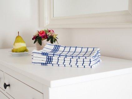 Kuchyňská utěrka MONA 50x70 - Modrá