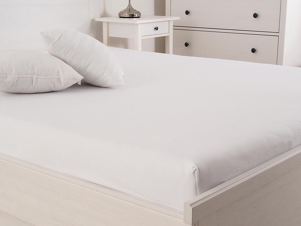 Levně Jersey prostěradlo s elastanem Lycra - Bílá Rozměr: 200 x 220