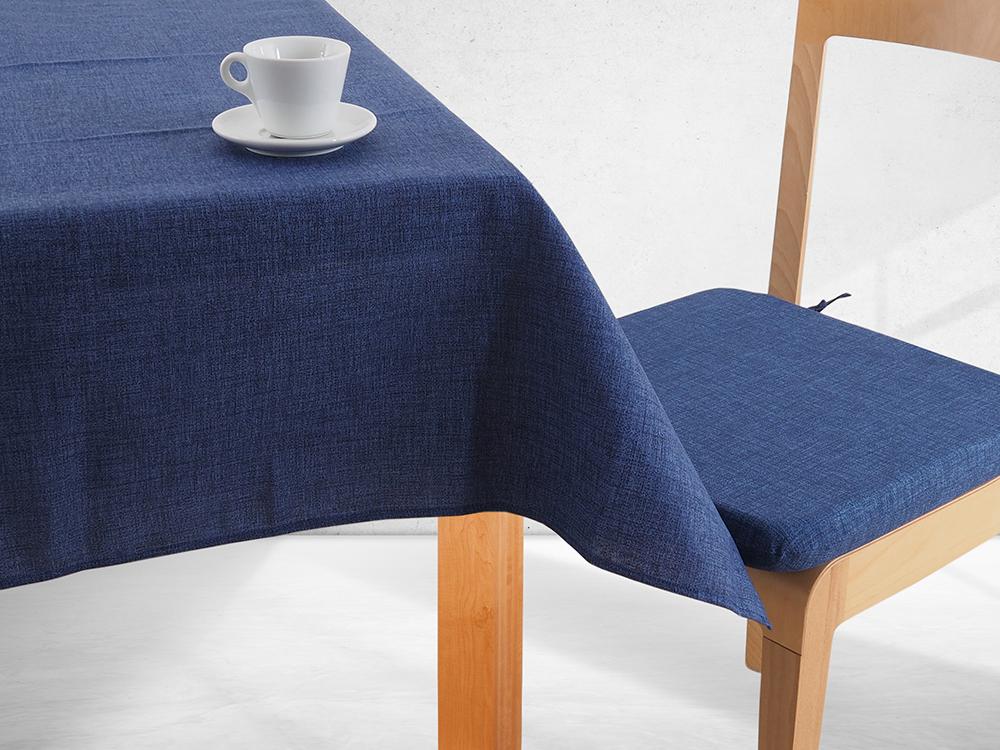 Levně Ubrus DEKOTEX - modrý Rozměr: 90 x 90