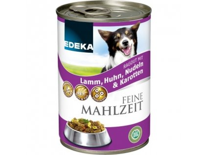 konzerva pro psy EDEKA Feine Mahlzeit Senior  400g