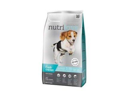 Nutrilove pes Junior Small&Medium 1,6kg