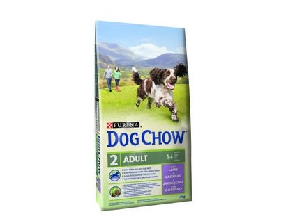 Purina Dog Chow Adult jehně 14kg