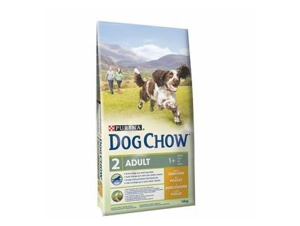 Purina Dog Chow Adult kuře 11kg+3kg zdarma