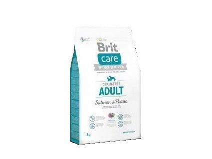 Brit Care Grain Free Adult Salmon & Potato 3kg