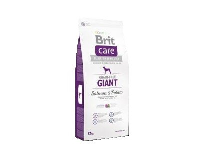 Brit Care Grain Free Giant Adult Salmon & Potato 12kg