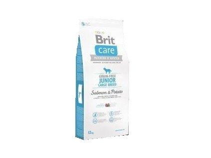 Brit Care Grain Free Junior Large Salmon & Potato 12kg