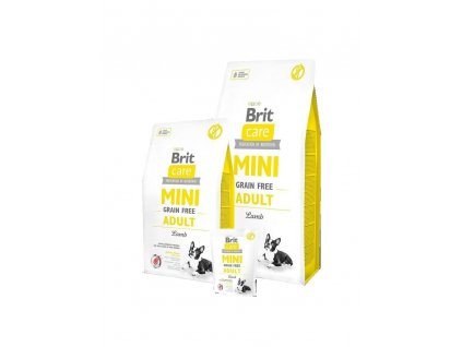 Brit Care Mini Grain Free Adult Lamb 7kg