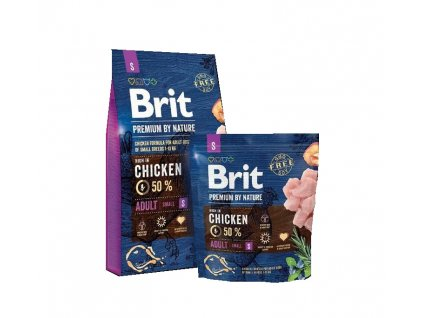 Brit Premium by Nature Adult S 1kg