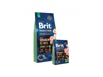 Brit Premium by Nature Juniort XL 3kg