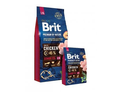 Brit Premium by Nature Senior L/XL 15kg