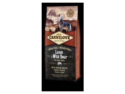 Carnilove Lamb & Wild Boar for Adult 12kg