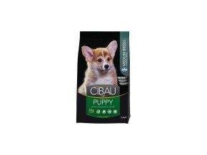Cibau dog Puppy Medium 12kg + 2kg gratis