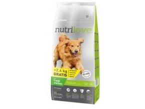 Nutrilove pes Adult Mature 7+ 12kg