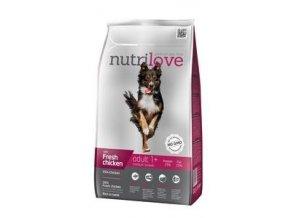 Nutrilove pes Adult Medium 1,6kg