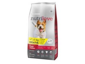 Nutrilove pes Adult Small 8kg
