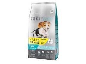 Nutrilove pes Junior Small&Medium 8kg