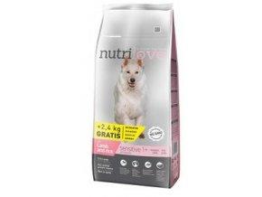 Nutrilove pes Sensitive s jehněčím masem 12kg