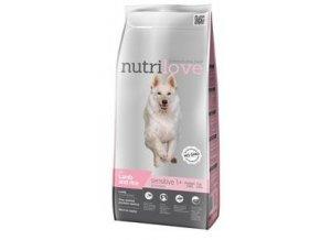 Nutrilove pes Sensitive s jehněčím masem 3kg