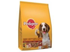 Pedigree Adult drůbeží se zeleninou 2,6kg