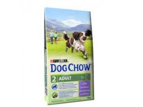 Purina Dog Chow Adult jehně 11kg+3kg zdarma