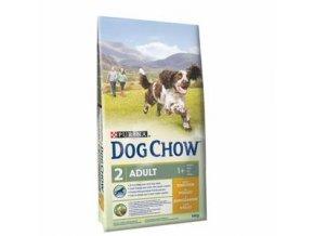 Purina Dog Chow Adult kuře 11kg+3kg zdarma