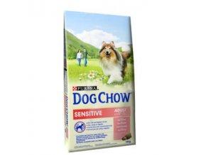Purina Dog Chow Adult Sensitive losos & rýže 14kg
