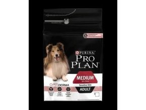 Pro Plan Dog Adult Medium Sensitive Skin s Optiderma 14kg