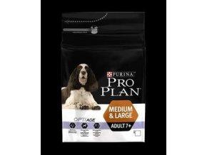Pro Plan Dog Adult 7+ Medium & Large s OptiAge 14kg
