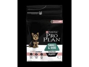 Pro Plan Dog Puppy Small & Mini Sensitive Skin s Optiderma 3kg