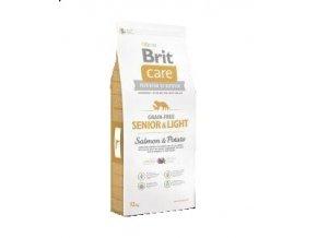 Brit Care Grain Free Senior&Light Salmon & Potato 12kg