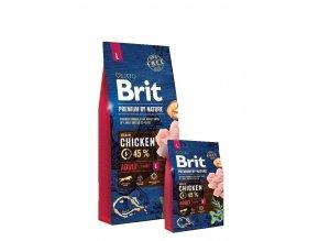Brit Premium by Nature Adult L 8kg