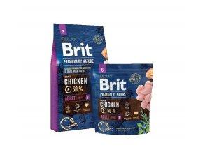 Brit Premium by Nature Adult S 8kg