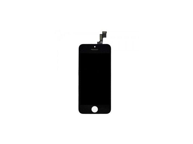 kompletni lcd panel displej pro iphone 5s se cerny