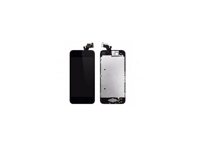 kompletni lcd panel displej pro iphone 5 cerny