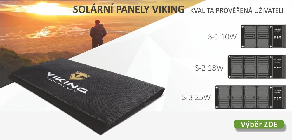 Solární panely - malé