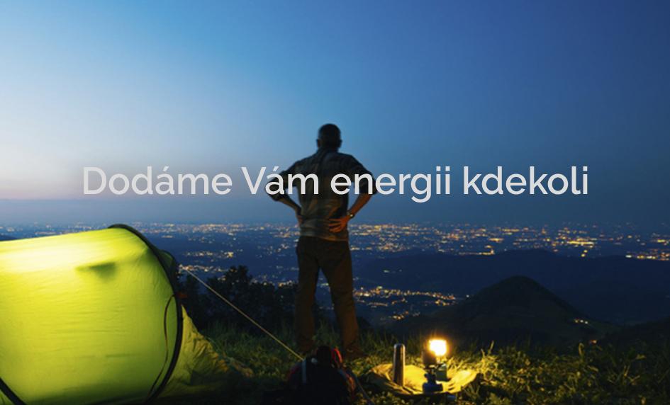 Dodáme energii kdekoli