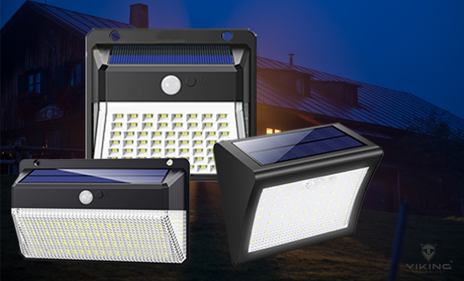 Venkovní LED světla VIKING