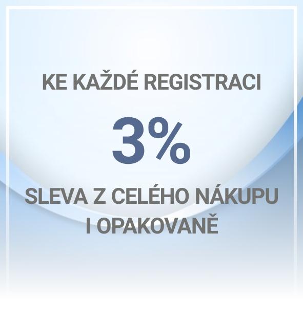 Registrace zákazníků
