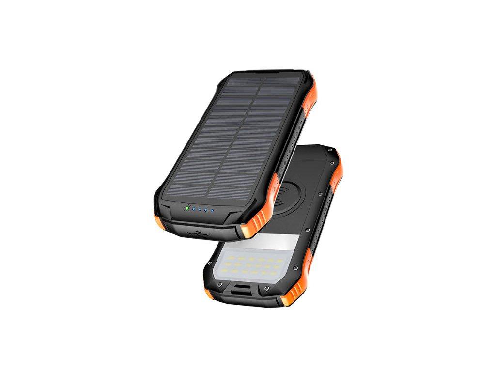 Solární powerbanka Viking S12W QC3.0 12000mAh