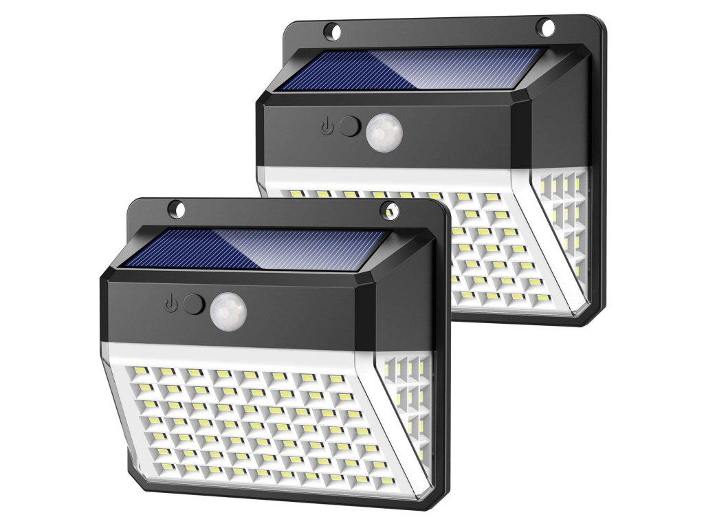 Venkovní solární LED světlo s pohybovým senzorem VIKING D82