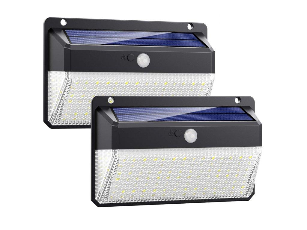 Venkovní solární LED světlo s pohybovým senzorem VIKING M108  Zahradní světlo