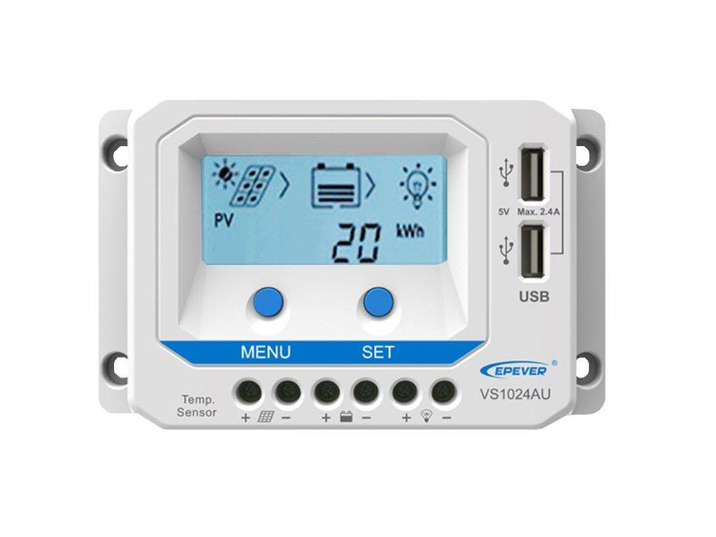 Solární regulátor VS1024AU  Solární řídící jednotka