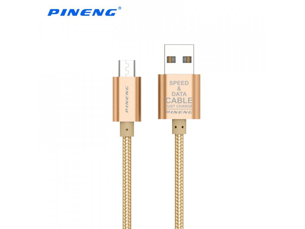 Datový a nabíjecí kabel PN-306 Micro USB