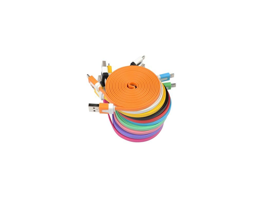 HC-CC5 plochý datový kabel s Apple lightning konektorem