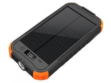 Solární powerbanka Charlie II 12000mAh