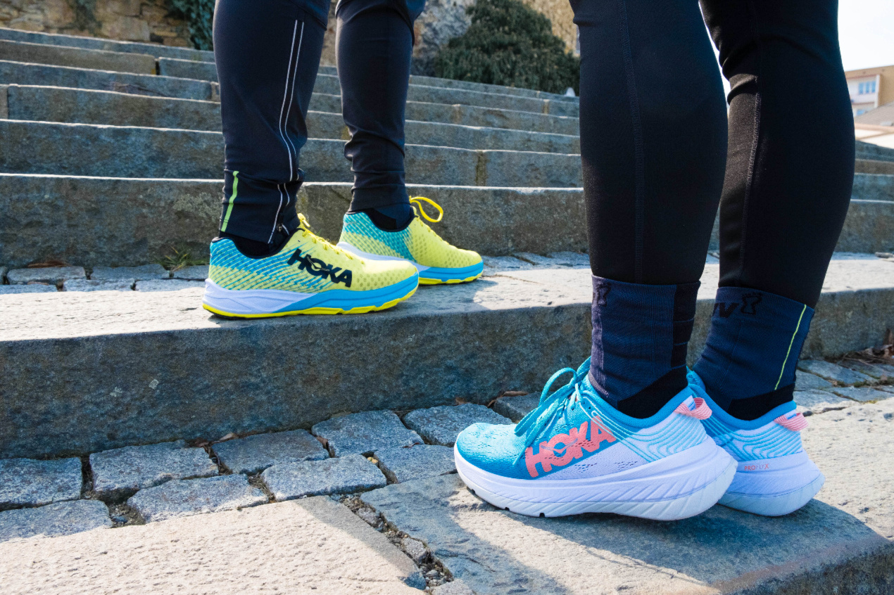 Hoka One One Carbon X vs. Carbon Rocket