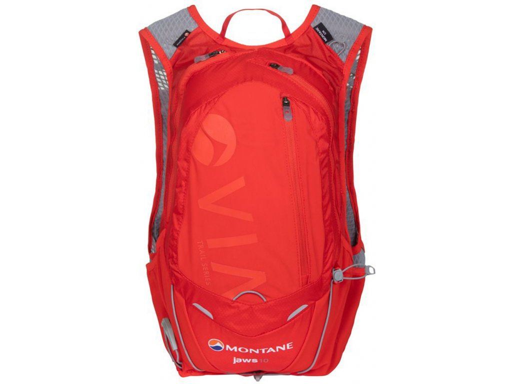 Montane Via Jaws 10 Flag Red