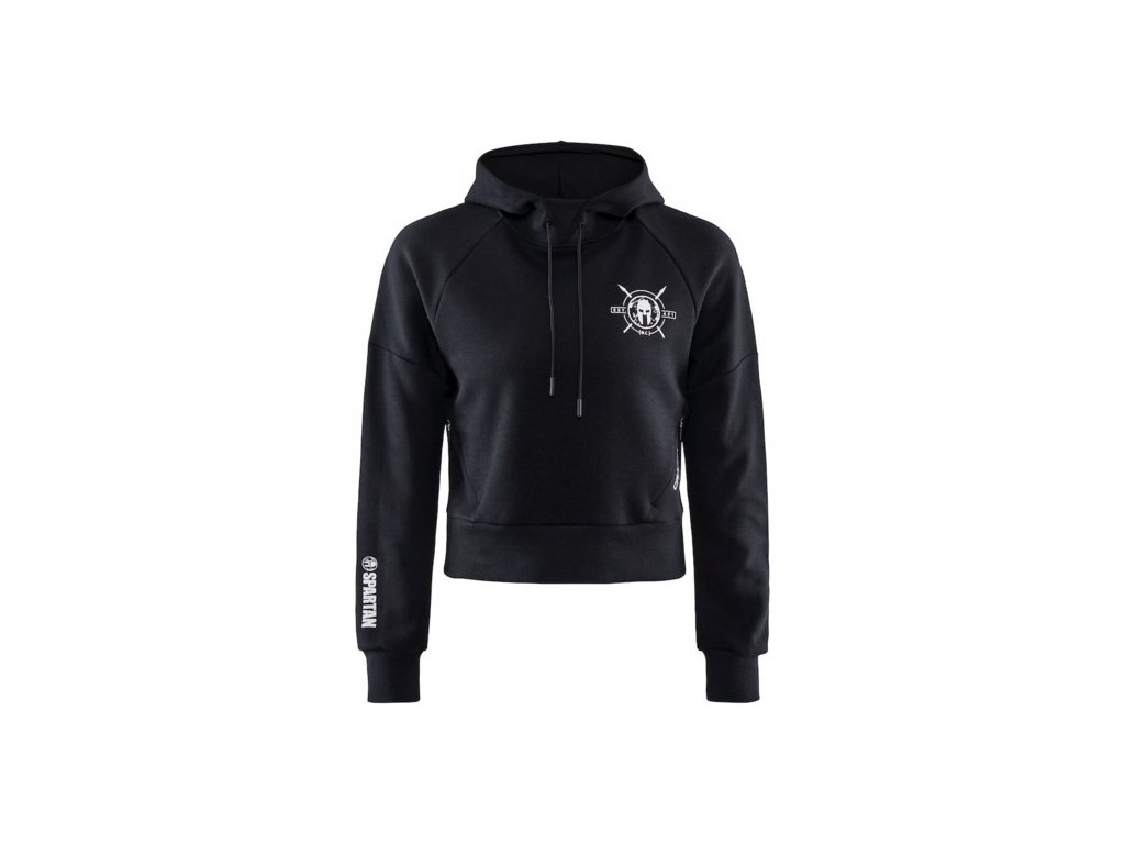 w mikina craft spartan hoodie cerna