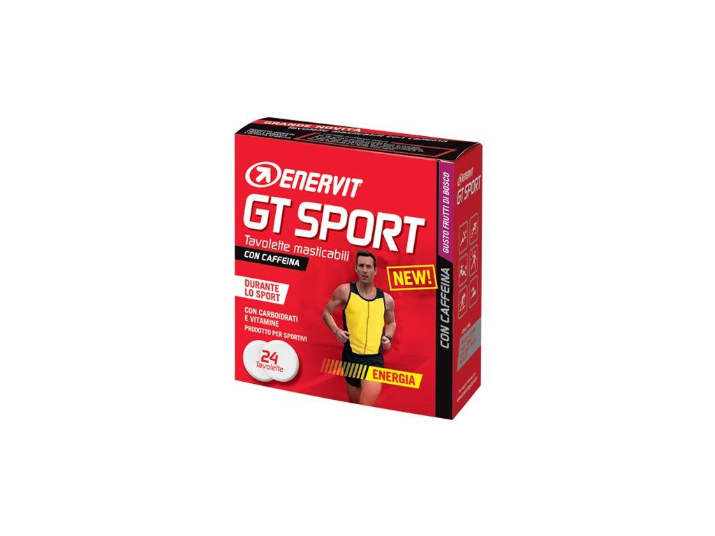 ENERVIT GT Sport 24 tablet s kofeinem lesni ovoce