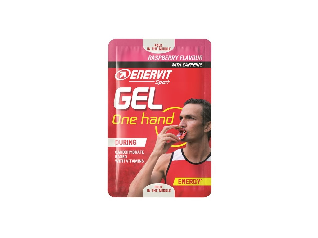 enervit gel one hand malina